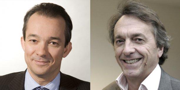 Marc Sabatier et Alain Thibault