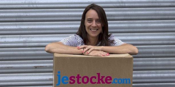 Laure Courty, cofondatrice de Jestocke.com, souhaite développer l'activité en France puis à l'étranger