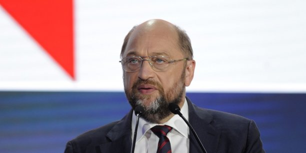 """""""C'est un pragmatique"""", a déclaré le président du Parlement européen Martin Schulz à propos d'Alexis Tsipras, chef de parti de gauche Syriza."""