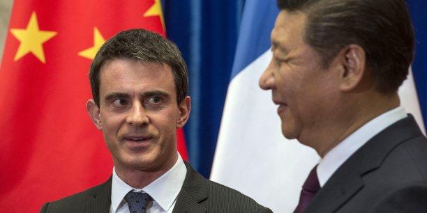 Manuel Valls a rencontré Xi Jinping, le président chinois.