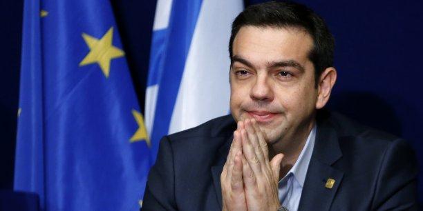 """Le gouvernement d'Alexis Tsipras s'est félicité du fait que les discussions seront désormais effectuées à Bruxelles avec les institutions (UE et FMI) et non pas à Athènes comme par le passé avec """"la troïka"""", les hauts responsables de l'UE, BCE et FMI, """"qui avaient humilié"""" les Grecs."""