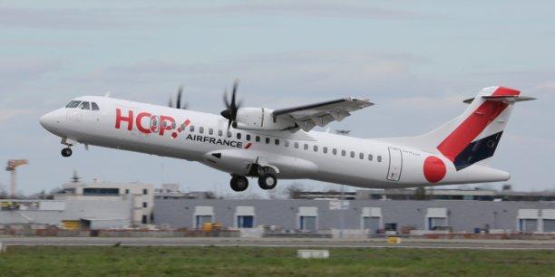 Hop ! Air France propose pour Bordeaux une offre en sièges en hausse de 9 % à l'hiver 2016 - 2017.