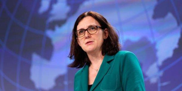 Cecilia Malmström, commissaire européen au Commerce.