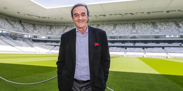 Jean-Louis Triaud, président du Football club des Girondins de Bordeaux