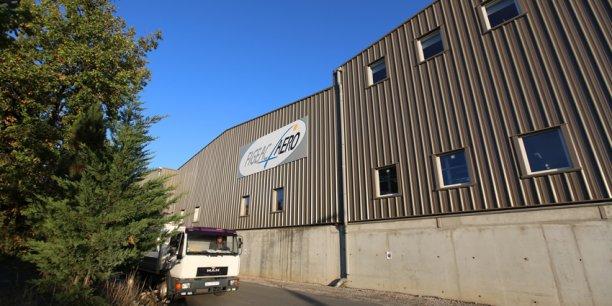 L'usine Figeac Aéro, dans le Lot