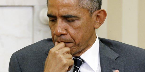 Barack Obama, qui quittera la présidence dans un an, va laisser une économie en faible croissance