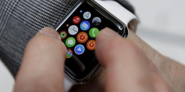 Apple, qui a sorti en avril sa première montre connectée, l'Apple Watch, s'est adjugé 15% du marché mondial au quatrième trimestre.