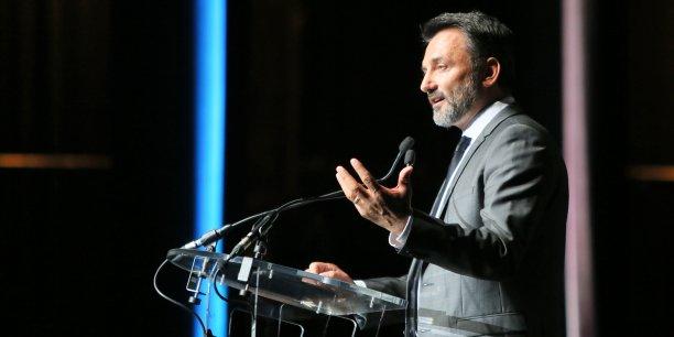 Frédéric Lopez était l'une des personnalités invitées à s'exprimer sur la place de l'art dans l'entreprise