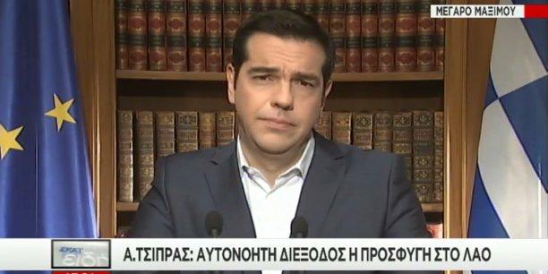 Alexis Tsipras maintient le référendum de dimanche