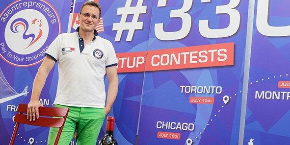 Vincent Prêtet, fondateur de l'accélérateur de startups 33Entrepreneurs à Bordeaux