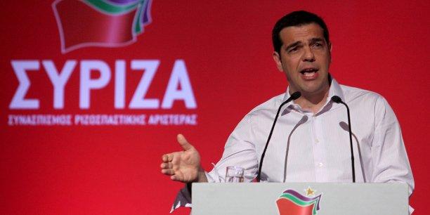 Alexis Tsipras est prêt à une alliance avec le Pasok.