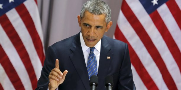 """""""Jamais auparavant un accord de non-prolifération nucléaire n'avait inclus un régime de surveillance et de transparence aussi robuste et intrusif"""", assure Barack Obama."""