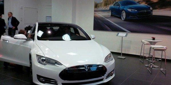Le showroom lyonnais, ouvert fin août, est le 4e en France du constructeur Tesla