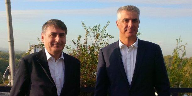 Philippe Robardey et Laurent Boissonade