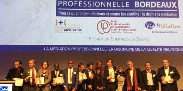 Remise des espoirs 2015 de la m diation au symposium de la - Chambre professionnelle de la mediation et de la negociation ...