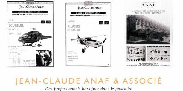 La brochure célébrant les 40 ans d'exercice de Jean-Claude Anaf ? Une hagiographie pure mégalomanie, estime-t-on au sein de la profession.
