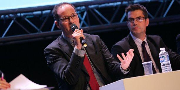 Tahar Melliti sur la table ronde consacrée à l'industrie du futur, lors des Trophées de l'Aéronautique le 19 novembre à Toulouse
