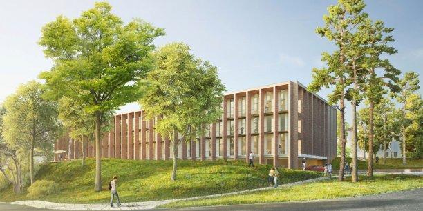 Le futur bâtiment du CENS s'installera à l'hôpital Lyon-Sud