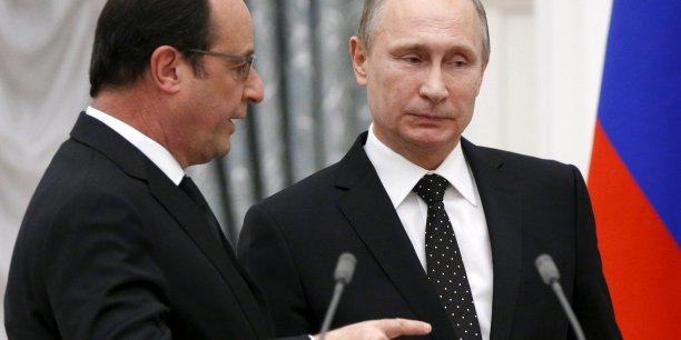 Les relations commerciales entre la Russie et la France sont en passe de se normaliser