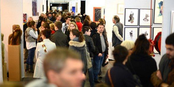 Art contemporain le salon art3f p rennise son for Salon art contemporain montpellier