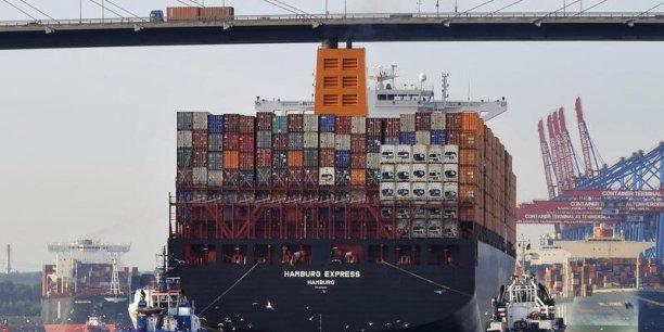 Les produits allemands se sont moins vendus en janvier...