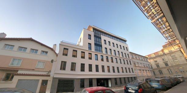 La tour du web dans le 7ème arrondissement de Lyon.