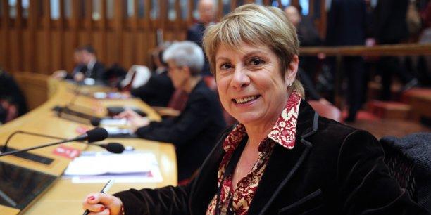 France Jamet a présenté sa candidature face à Carole Delga