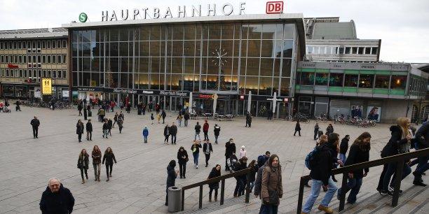 La gare centrale de Cologne, où les agressions de la Saint-Sylvestre ont eu lieu.