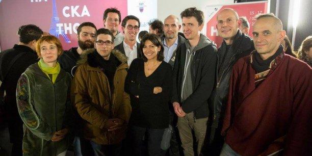 Le hackathon, baptisé Nec Mergitur en référence à la devise de Paris, a attiré 400 personnes.