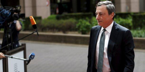 Mario Draghi ne doit pas baisser la garde.