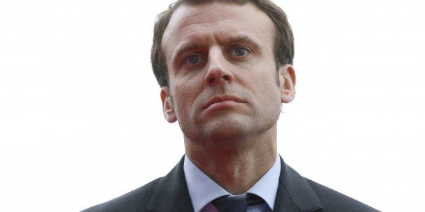 """Emmanuel Macron estime toutefois que le projet de loi Travail est """"cohérent""""."""