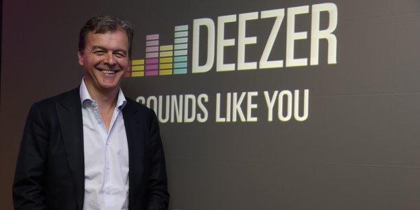 Le directeur général de Deezer Hans-Holger Albrecht, a annoncé une levée de fonds de 100 millions d'euros auprès de certains actionnaires du groupe.