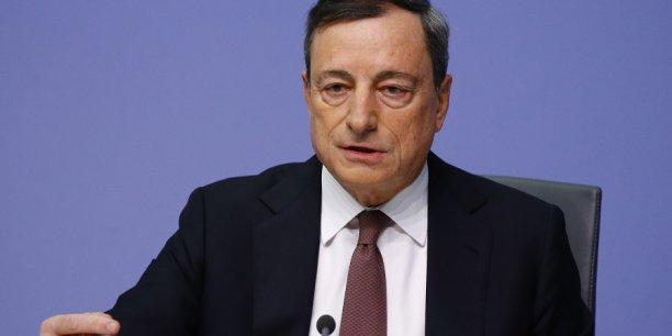 Mario Draghi va lancer une nouvelle phase de politique d'assouplissement quantitatif