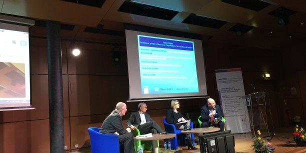 Table ronde aux 21es Rencontres Économie Emploi Travail de la Direccte Auvergne Rhône-Alpes