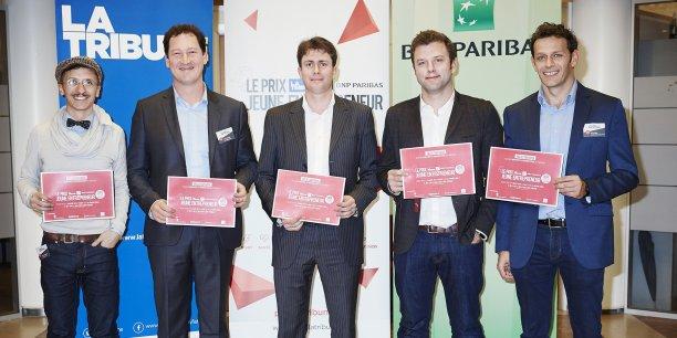 Les cinq lauréats bordelais du Prix La Tribune Jeune Entrepreneur