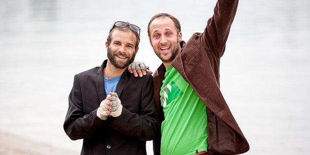 Romain Beugnot et Samuel Boggio souhaitent créer à Lyon une auberge responsable et participative.