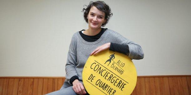 Marion Riera est salariée de Palanca