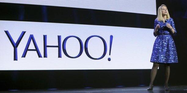 """La patronne du groupe internet Marissa Mayer, a détaillé son """"plan de la dernière chance"""" mardi soir pour relancer l'ancien fleuron d'Internet, dont elle a pris les commandes en 2012."""