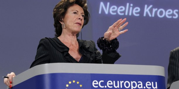 Neelie Kroes. Copyright Reuters