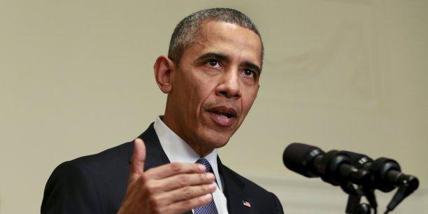 """""""En créant une redevance sur le pétrole, le projet du président crée une incitation claire à l'innovation du secteur privé dans la réduction de notre dépendance au pétrole"""", assure la Maison Blanche."""
