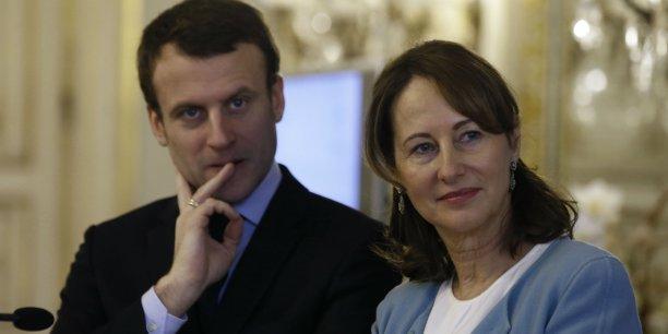 """Une cinquantaine de projets seront sélectionnés et pourront rejoindre un incubateur """"GreenTech"""" au sein du ministère de l'Ecologie, où ils bénéficieront d'un soutien financier et technique, ont annoncé Ségolène Royal et Emmanuel Macron."""