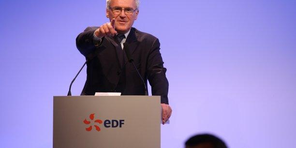 Jean-Bernard Lévy, PDG d'EDF propose l'allongement de la durée de vie des réacteurs et l'augmentation du prix de l'électricité