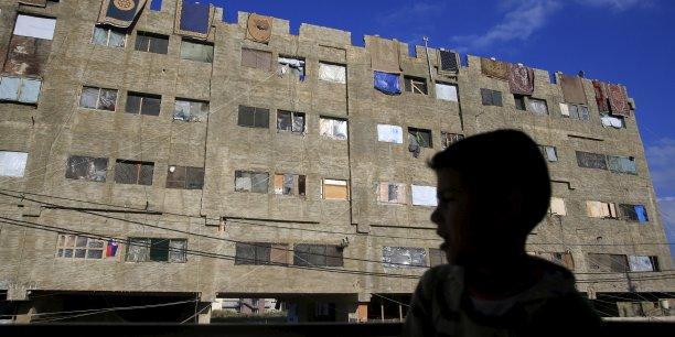 Au Liban, les réfugiés syriens représentent 25% de la population totale, en Jordanie, près de 15%. Sur la photo, à Sidon, au sud du Liban.
