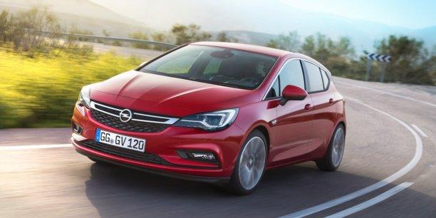 L'Opel Astra fait parti des sept finalistes du prix de la voiture de l'année qui sera désigné au salon de Genève.