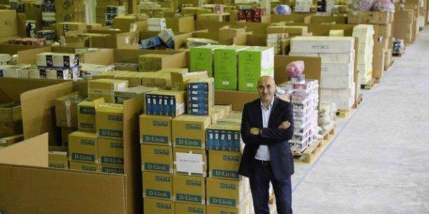 Le site de e-commerce affirme attirer 24 millions de visiteurs uniques par mois. En photo : Ronaldo Mouchawar, fondateur et CEO de Souq.com.