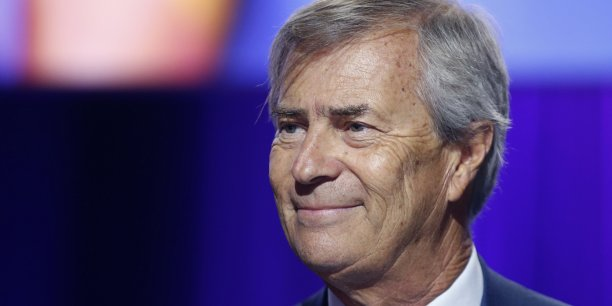 Vincent Bolloré, le patron de Vivendi (maison-mère de Canal+, Havas et Telecom Italia).