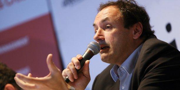 Ludovic Le Moan est le PDG de Sigfox. Crédit : Rémi Benoit.
