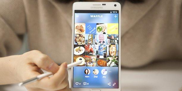 """Waffle est né d'un constat : si Facebook, Twitter, Instagram ou Snapchat favorisent les interactions, ces plateformes ne permettent pas de """"lier"""" les publications entre elles."""