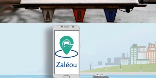 Le nom de l'application a été choisi en clin d'oeil à la question des chauffeurs de taxi à l'adresse du passager lorsque celui-ci prend place à bord du véhicule: Vous z'allez où ?. Ce Zallez-où ?  a ainsi donné naissance à un quenalien Zaléou.