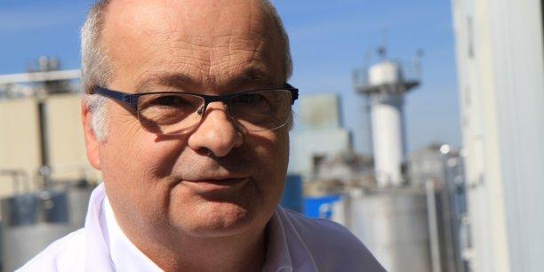 Yvan Cavelier, ex-responsable des achats et de l'export de la savonnerie Bernard, à Nantes, devenu président de la SDA Savonnerie de l'Atlantique, un jour de 2006.